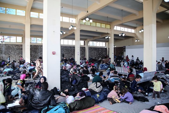In a matter of days, some 5,000 people have taken shelter at Piraeus. Most of them are Syrians and Iraqis.