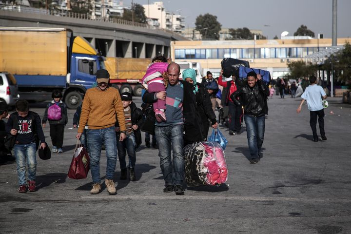 The Greek government's input into taking care of refugees and migrants has been minimal.