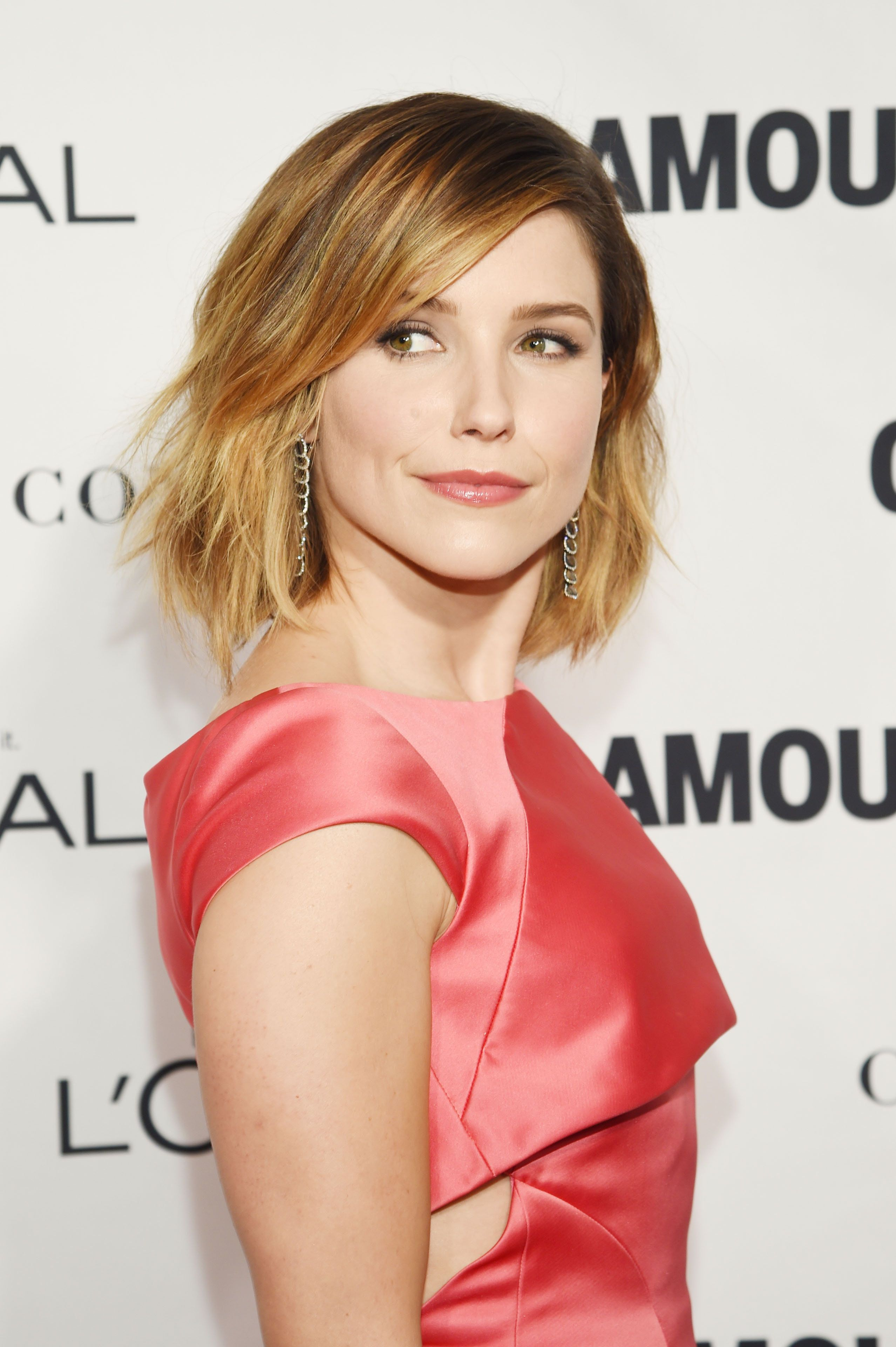 NEW YORK, NY - NOVEMBER 09:  Actress Sophia Bush attends 2015 Glamour Women Of The Year Awards at Carnegie Hall on November 9, 2015 in New York City.  (Photo by Dimitrios Kambouris/Getty Images for Glamour)