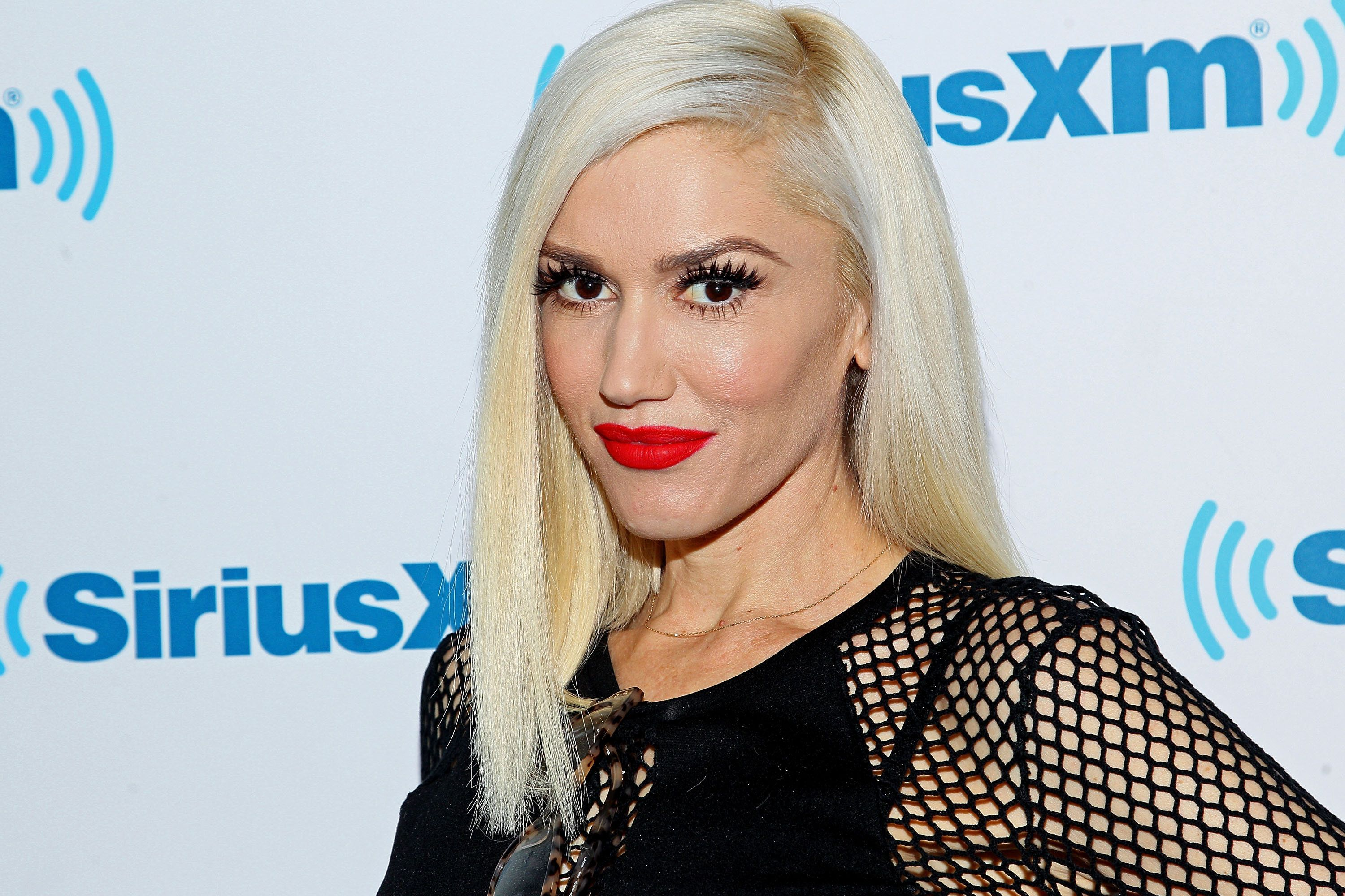 NEW YORK, NY - DECEMBER 03:  Gwen Stefani visits SiriusXM Studios on December 3, 2015 at SiriusXM Studios on December 3, 2015 in New York City.  (Photo by Steve Mack/Getty Images)