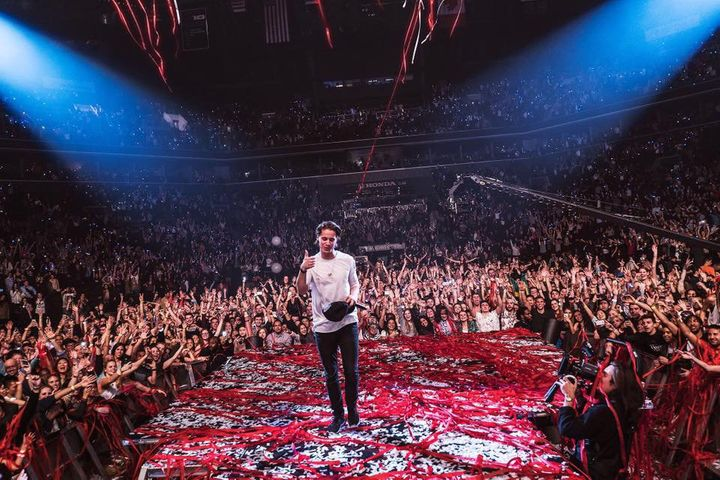 Kygo following his headling show at Brooklyn's Barclays Center.