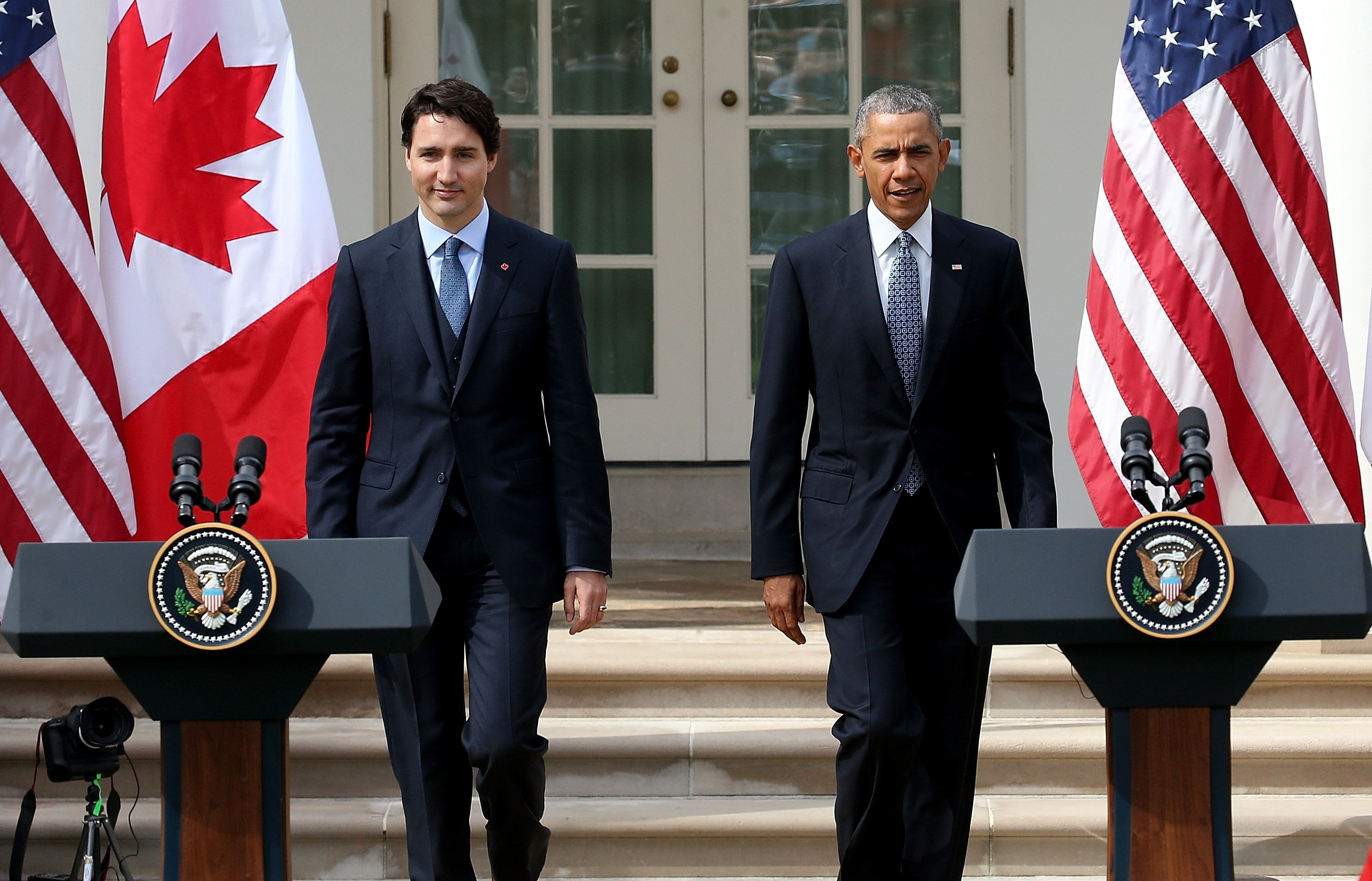 Canadian Prime Minister Justin Trudeau took office in November, replacing frequent White House foe Stephen Harper.