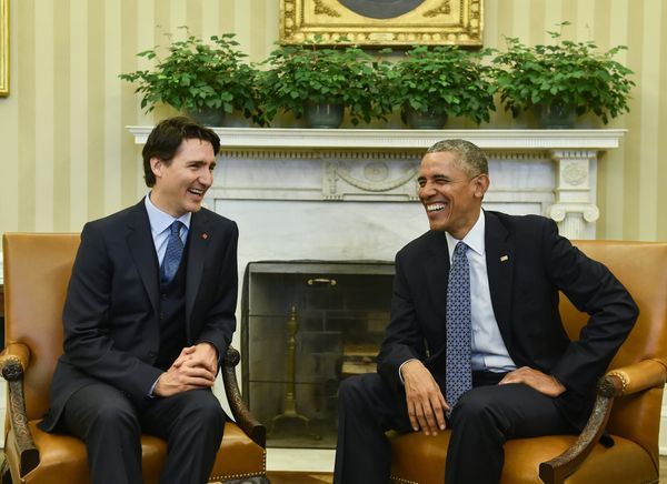 It's the Canadian PM's first state visit to the U.S.
