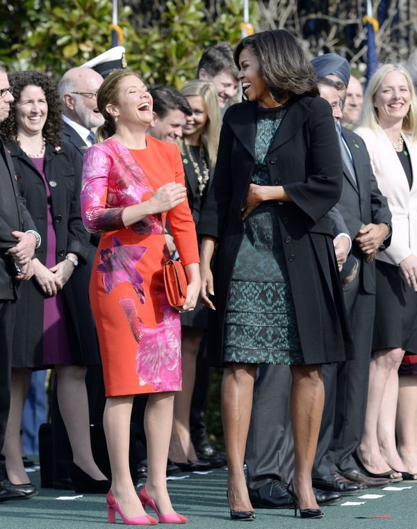 """First Lady Michelle Obama called Sophie Grégoire-Trudeauher """"soulmate."""""""