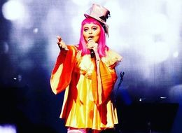 Nothing To See Here, Folks, Just Madonna Dressed As A Clown