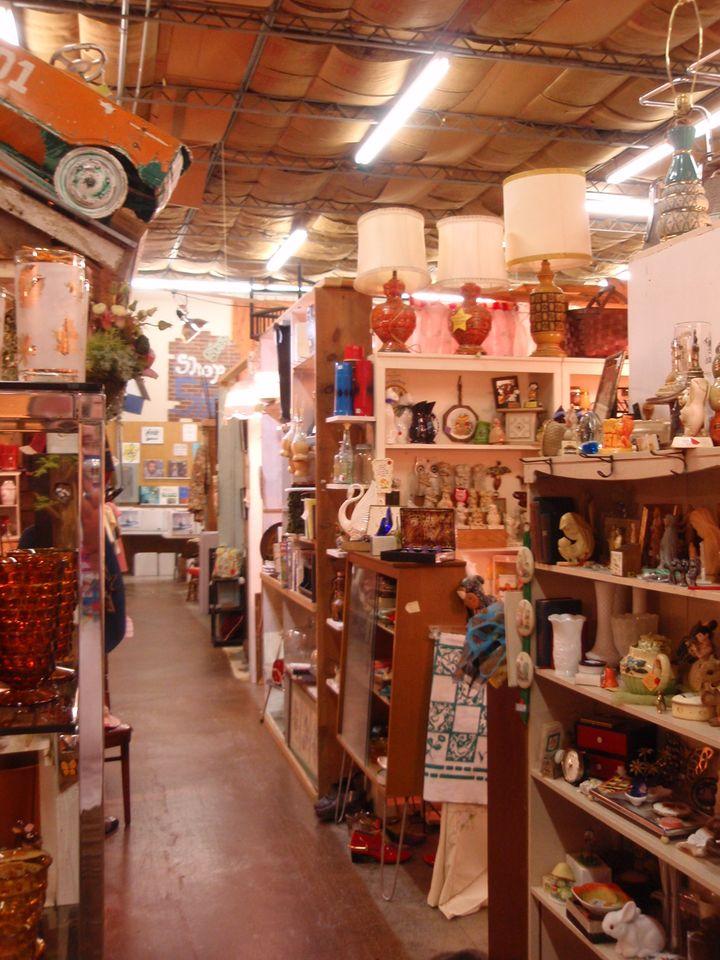Inside Nostalgia, the vintage market.