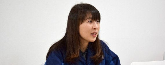 Airi Ide says she didn't even consider quitting her job in the aftermath of the earthquake.