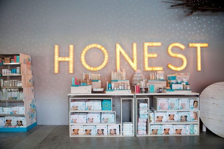 The Honest Company is big on safer baby products.
