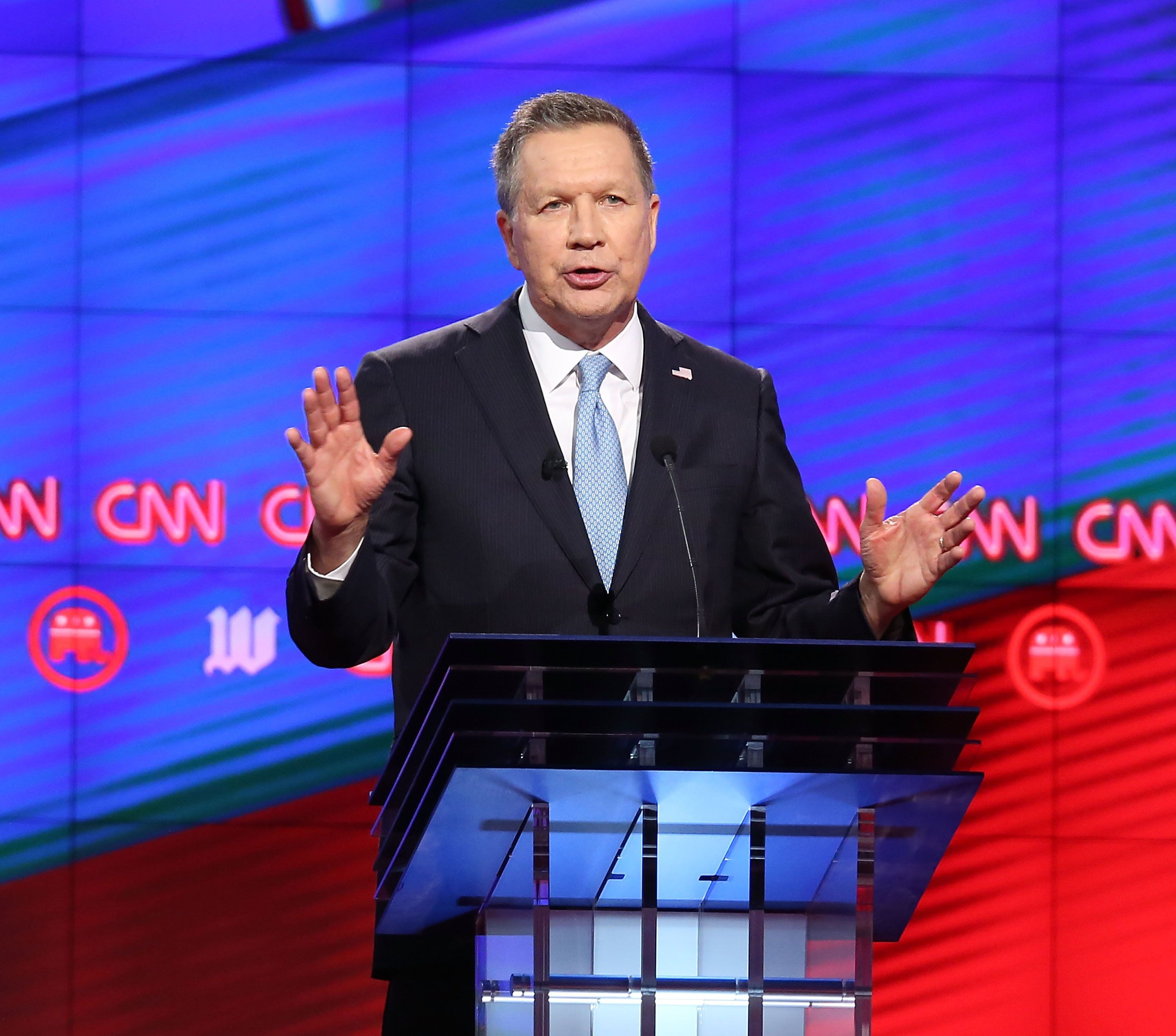"Ohio Gov. John Kasich (R) says ""we don't know how much humans actually contribute"" to climate change, despite the overwh"