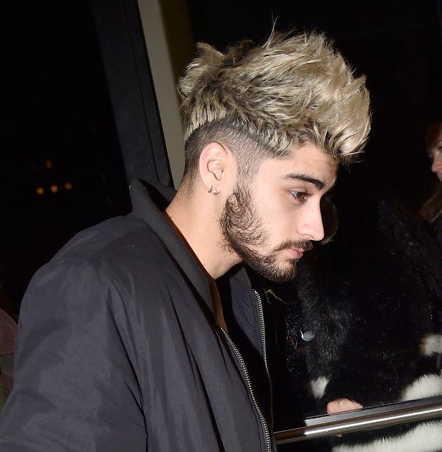 Zayn Malik Shows Off Brand New Hipster Haircut - Hair colour of zayn malik