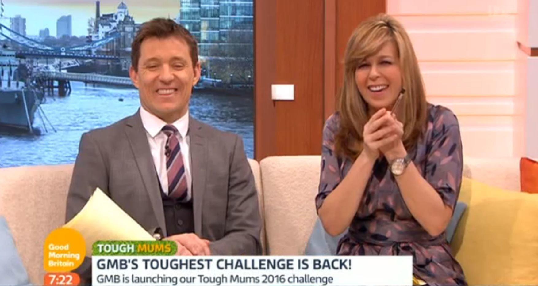 Kate Garraway Laughs Off 'GMB' Wardrobe