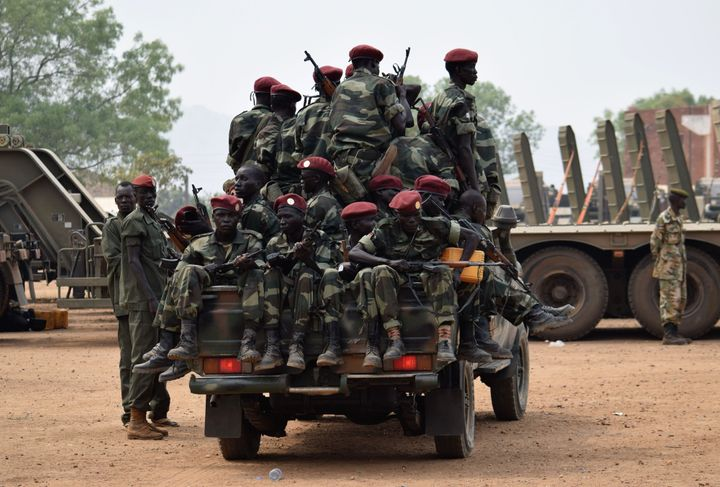 Soldiers from the South Sudanese army (SPLA) have been accused of raping, pillaging and murder.