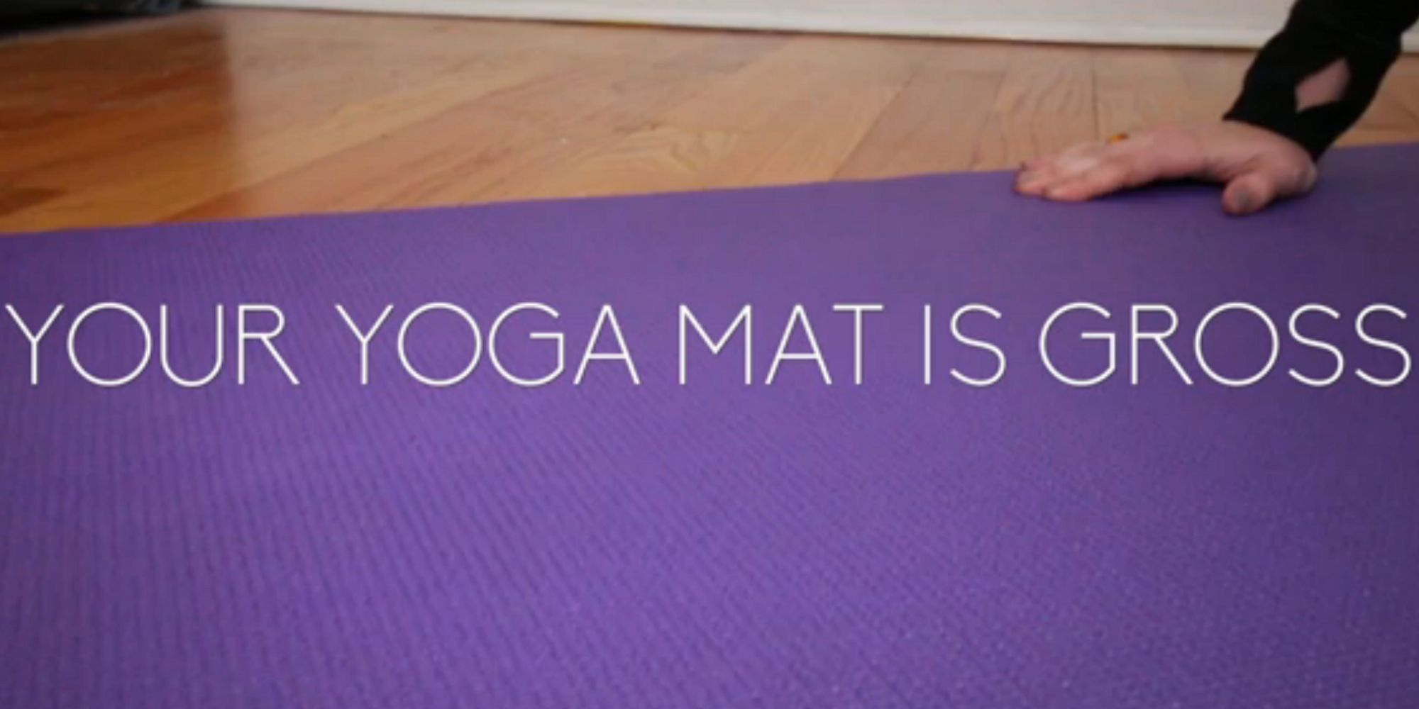 Your Yoga Mat Is Gross Keep It Clean With This Homemade