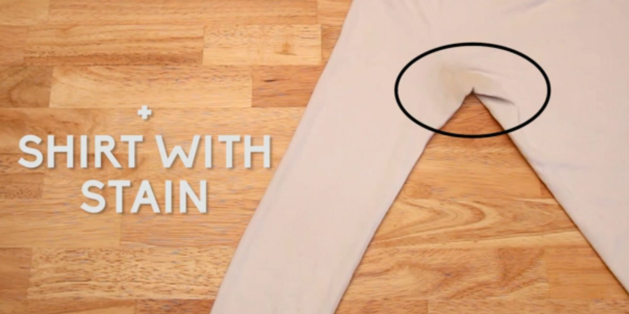Life hack how to remove unsightly armpit stains from for Remove armpit stains from shirts