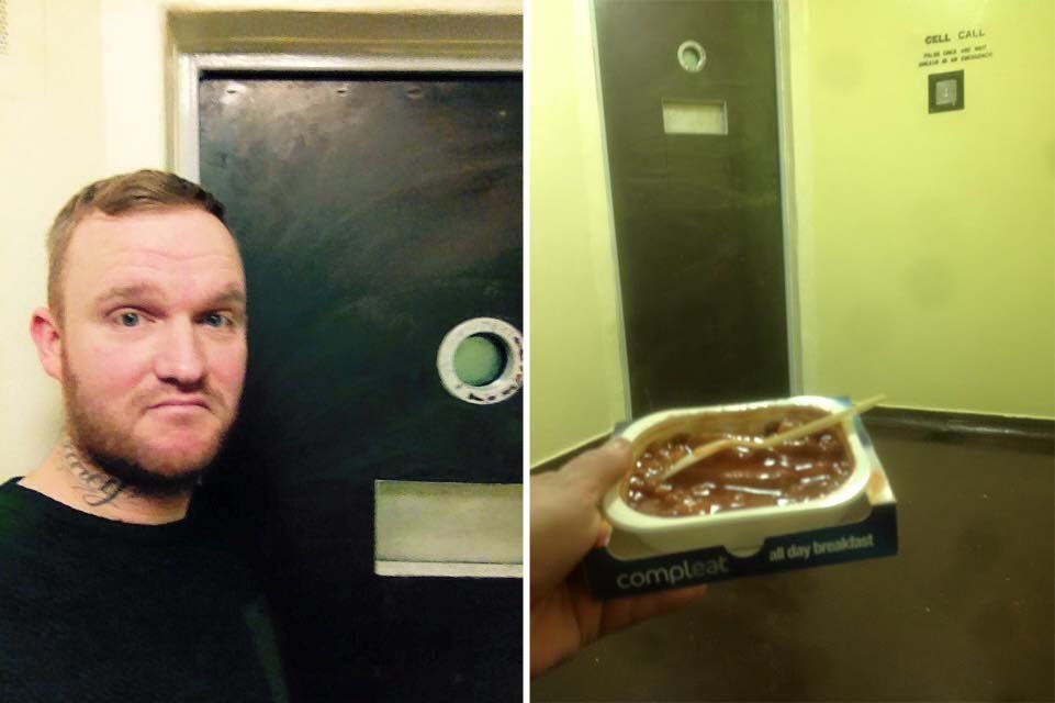 Man Leaves TripAdvisor-Style Review For Prison Cell, Says All-Day Breakfast Needs
