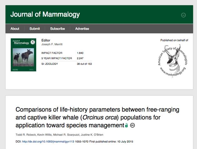 The study was published in the Journal of