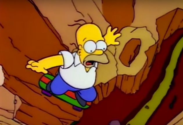Jeremy Corbyn Is Homer Simpson Falling Into A Canyon And Bashing Labour's Head On The Rocks, Says