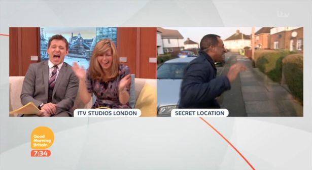 Andi Peters Loses It Thanks To A Wayward Wheelie Bin And Barking Dog On 'Good Morning Britain' Live Segment