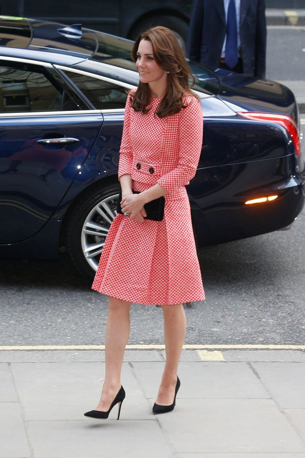 The Duchess Of Cambridge Ditches Her Coats For A Playful