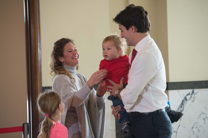 The Canadian Prime Minister's wife added that while she breastfed her three children, she also gave them formula.