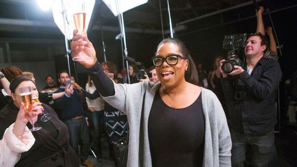 """This cover is groundbreaking!"" Oprah cheers."