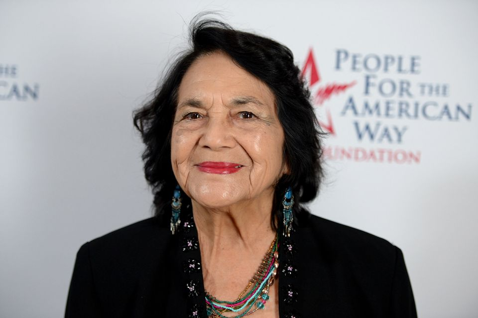 Dolores Huerta started advocating for women's rights following a brutal attack sustained during a peaceful an