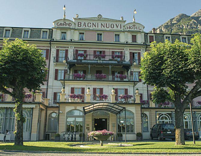 The Hotel Bagni Nuovi.