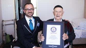 NEW WORLD'S OLDEST MAN ANNOUNCED BY GUINNESS WORLD RECORDS