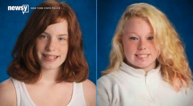 Shaeleen Fitch-Fortner (left) andKy-Lea Fortner.