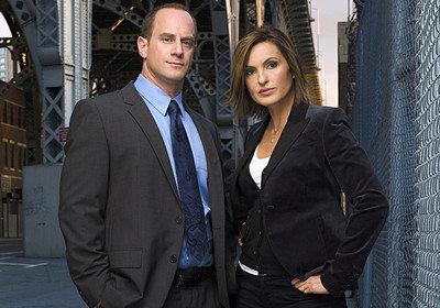 LAW & ORDER: SPECIAL VICTIMS UNITPictured: (l-r) Christopher Meloni as Det. Elliot Stabler, Mariska Hargitay as Det. Olivia Benson