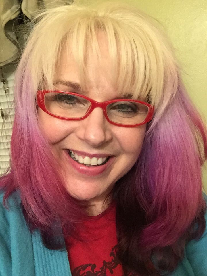 7 Women Over 50 On Why They Re Dyeing Their Hair Crazy Colors Huffpost