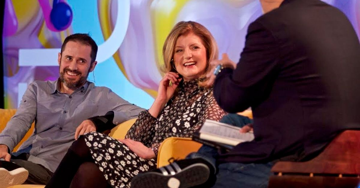 Arianna Huffington And Evan Williams Get Real About Information Overload