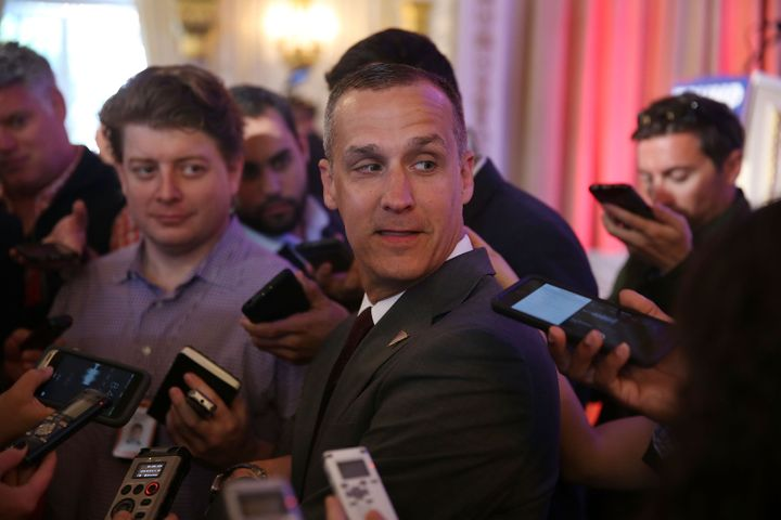 Donald Trump's campaign manager, Corey Lewandowski, facesallegations that he roughly grabbed a reporter who was trying