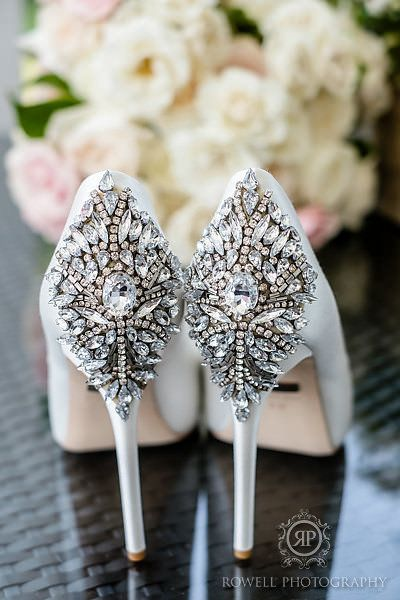9 Blinged Out Wedding Shoes