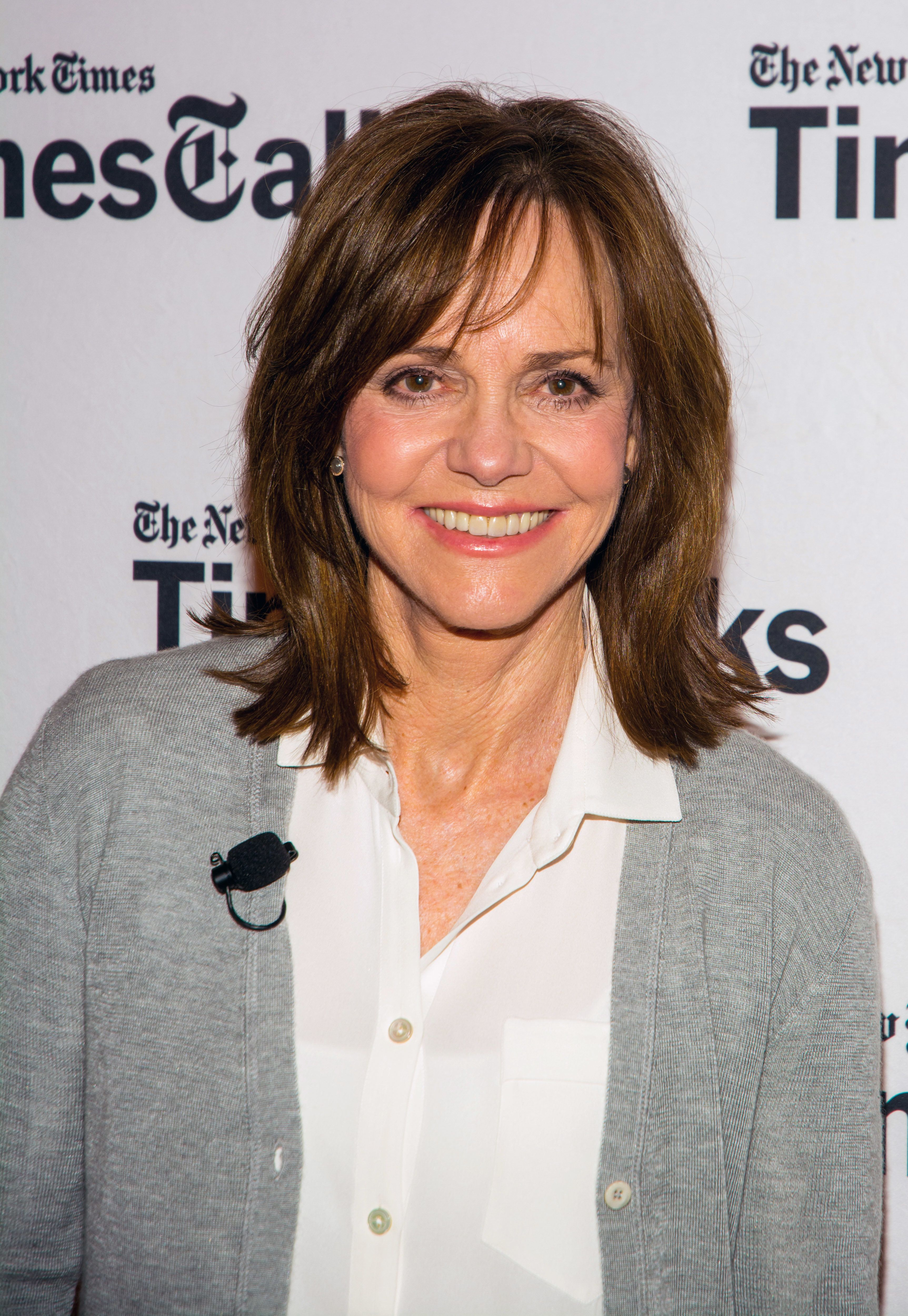 NEW YORK, NEW YORK - MARCH 10:  Sally Field attends the TimesTalks Featuring Sally Field, 'Hello, My Name Is Doris' at TheTimesCenter on March 10, 2016 in New York City.  (Photo by Steven A Henry/WireImage)