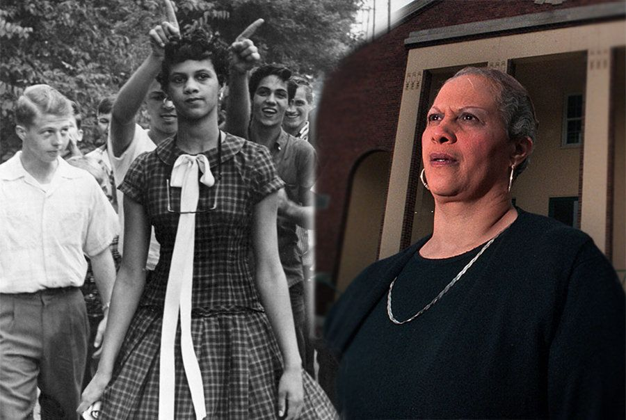 Dorothy Counts-Scoggins became the first black student to attend the all-white Harding High School in 1957.