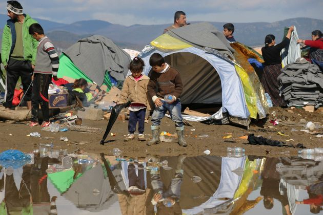 Idomeni camp pictured on Friday.Patrick Kingsley, the first-ever migration correspondent for The...