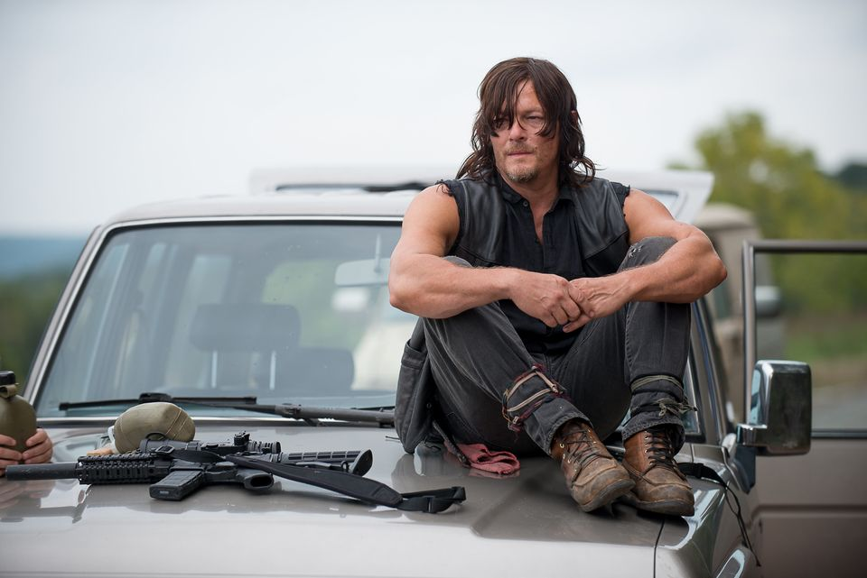 Norman Reedus as Daryl Dixon - The Walking Dead _ Season 6, Episode 12 - Photo Credit: Gene Page/AMC