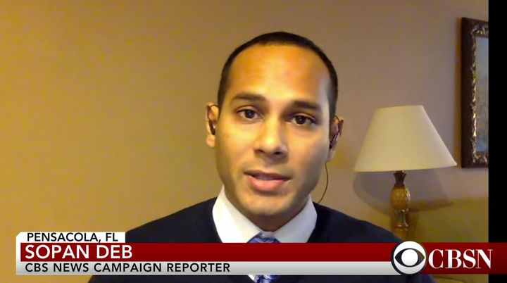 CBS News reporter Sopan Deb was detained Friday night in Chicago.