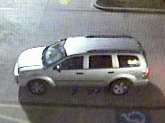 Police believe the robbers fled in this car.