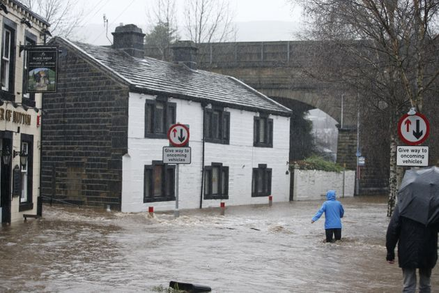 Severe floods hit Yorkshire and other parts of the UK in