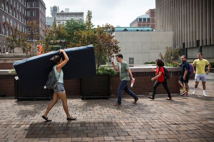 Paul Nungesser sued Columbia University for not stopping Emma Sulkowicz's activism about how her sexual assault complaint aga