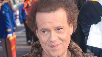 NEW YORK, NY - NOVEMBER 28:  TV personality Richard Simmons attends the 87th Annual Macy's Thanksgiving Day Parade on November 28, 2013 in New York City.  (Photo by Ray Tamarra/Getty Images)