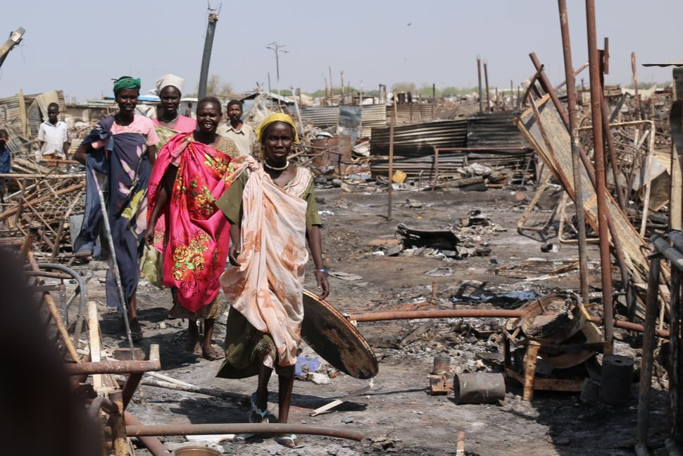 """I am outraged by what I have seen in Malakal,"" declared Kyung-wha Kang, U.N. assistant secretary-general for hum"