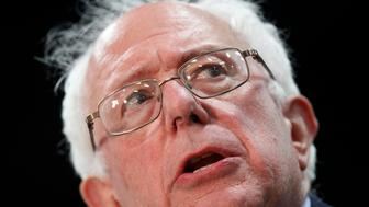 TOLEDO, OH - MARCH 11: Democratic presidential candidate Sen. Bernie Sanders (D-VT) speaks at a campaign event on March 11, 2016 in Toledo, Ohio. Sanders is campaigning in Ohio ahead of the primary on March 15. (Photo by J.D. Pooley/Getty Images)