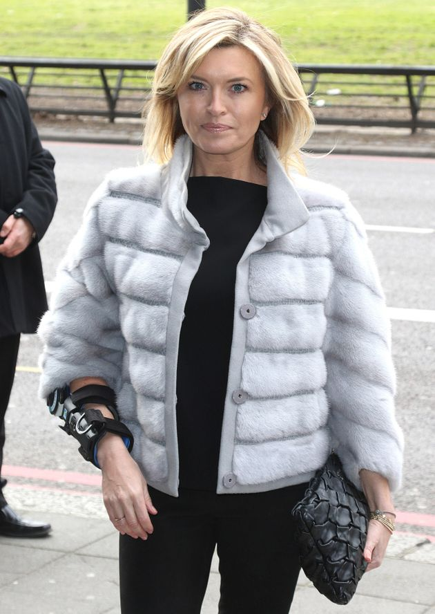 Tina Hobley says her injury was not her