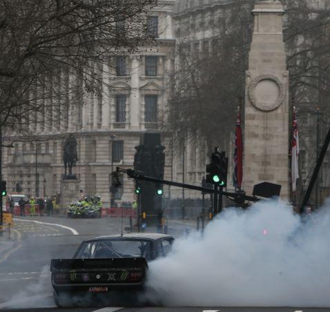 'Top Gear' were filming yesterday in