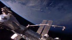 'NASA Cuts ISS Live Stream' As Alien Hunters Spot UFO Floating Near