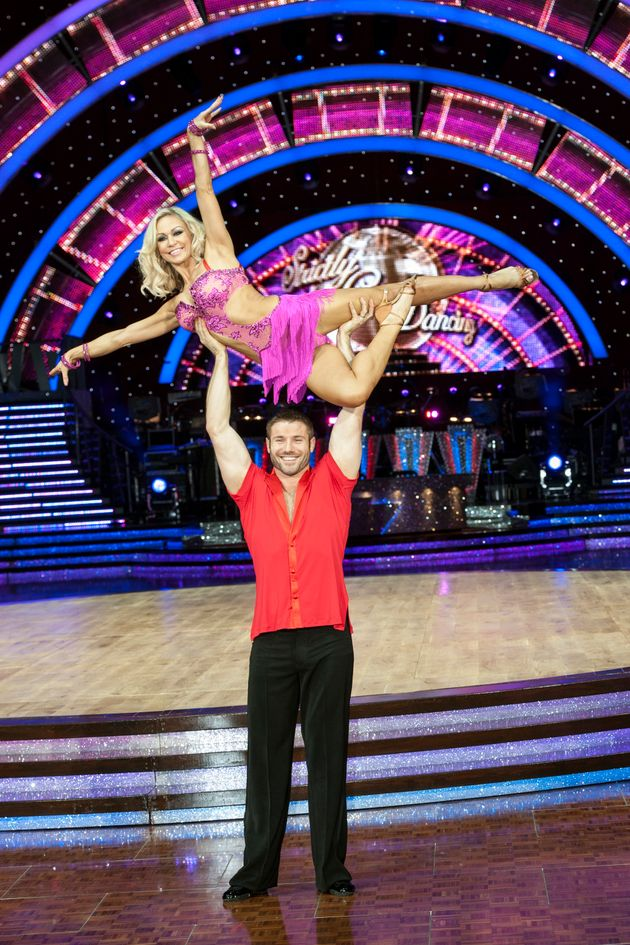 Ben appeared on 'Strictly' in 2013 with Darcey <s>Brussels</s>