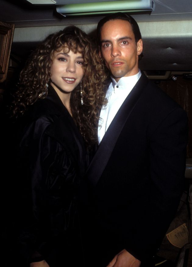 Mariah and her brother Morgan in happier
